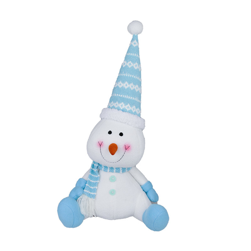 Personalized Christmas Snowman Doll