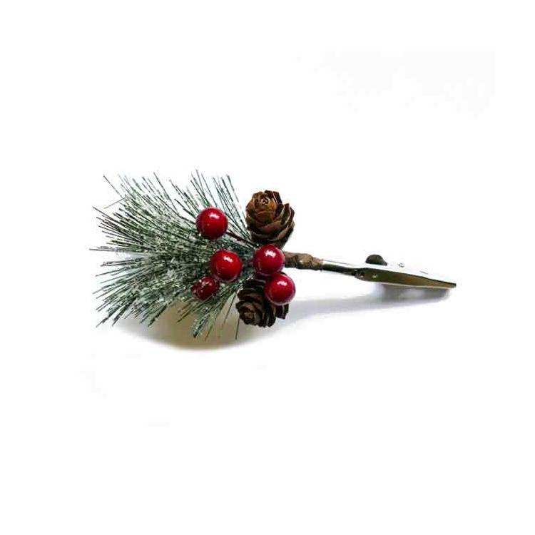 Single Pine Cone Christmas Tree Ornaments