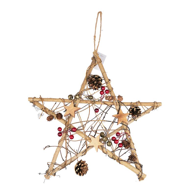 Christmas Star Ornament For Top Christmas Tree
