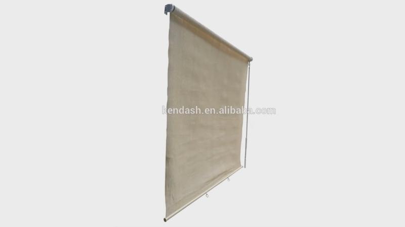 HDPE window sunshade roller blinds
