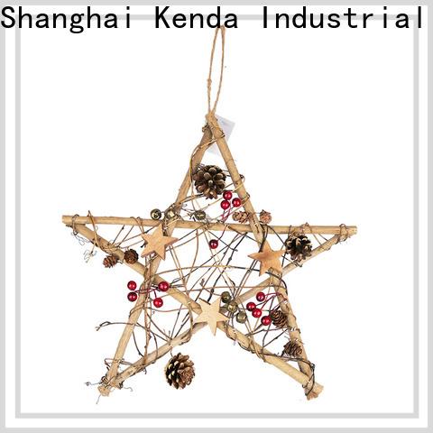 Kenda custom bulk christmas ornaments factory