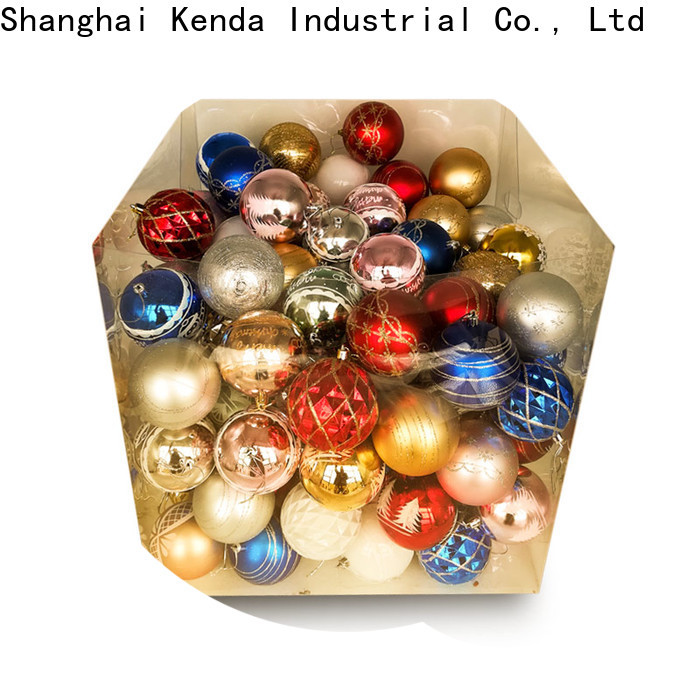 custom gold christmas balls exporter