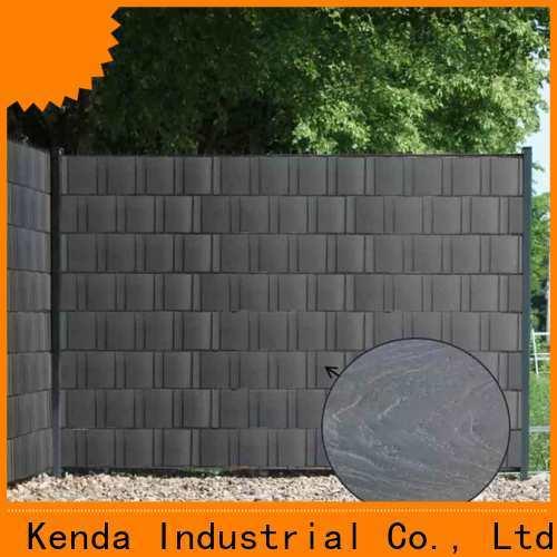 Kenda upvc fencing wholesale