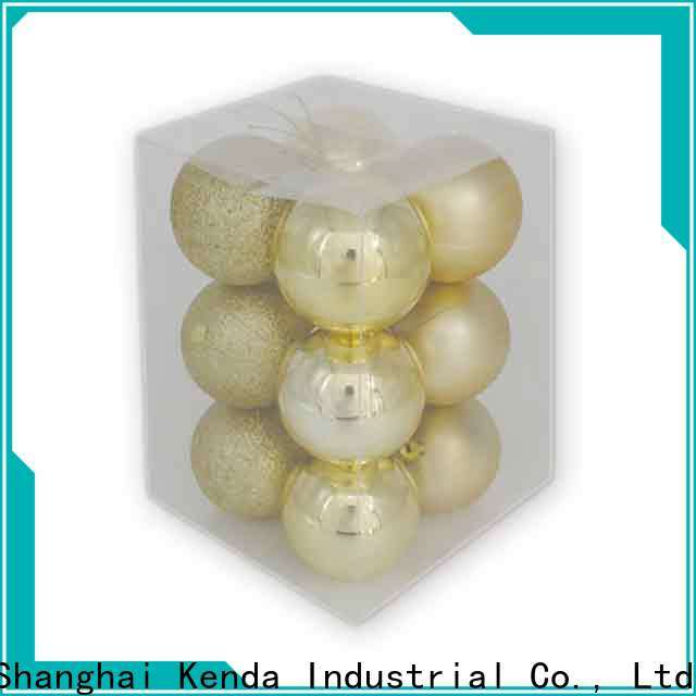 Kenda christmas ball decorations one-stop services