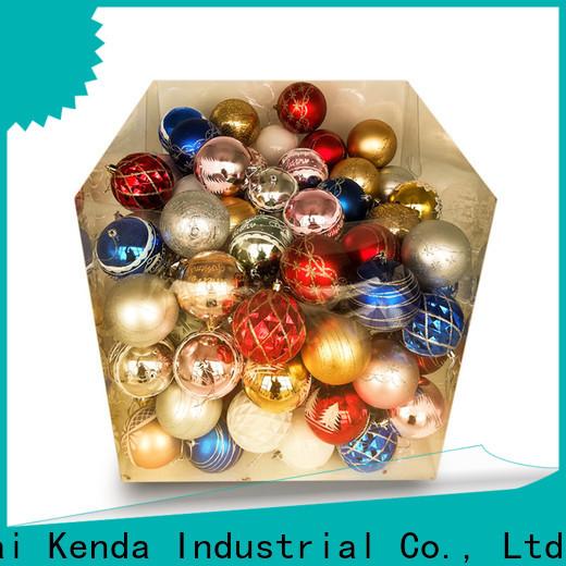 Kenda 2020 large christmas ball ornaments wholesale